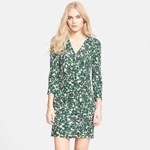 TORY BURCH Michele Jersey Wrap Dress Vines {EE8}